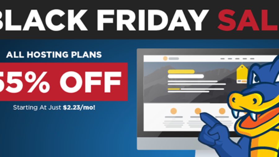 Save 75% With Hostgator During The Firesales Starting Friday!